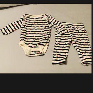 [Gap] Confetti Polkadot and Stripes Set